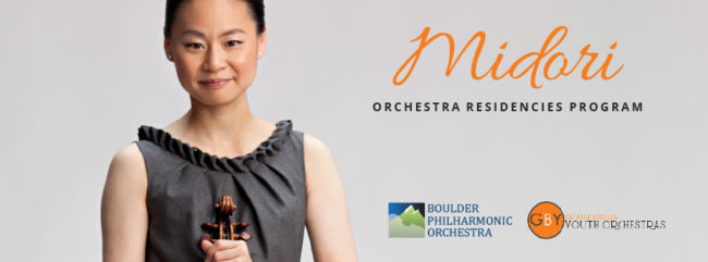 Midori Orchestra Residencies Program @ Various locations around Boulder