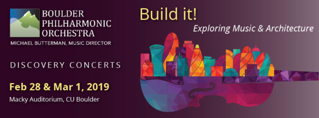 Discovery Concerts: Build It! @ Macky Auditorium | Boulder | Colorado | United States