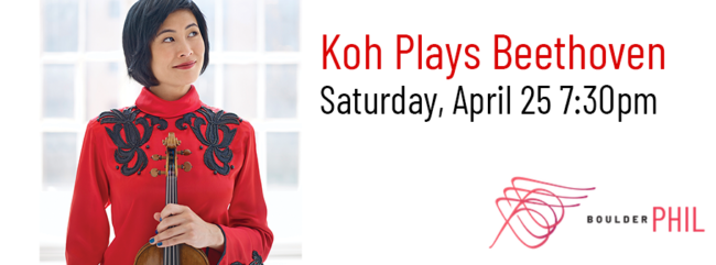 CANCELLED Koh Plays Beethoven @ Macky Auditorium | Boulder | Colorado | United States