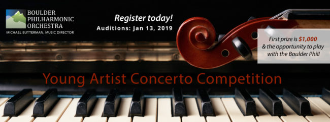 Young Artist Concerto Competition Auditions @ Atonement Lutheran Church | Boulder | Colorado | United States