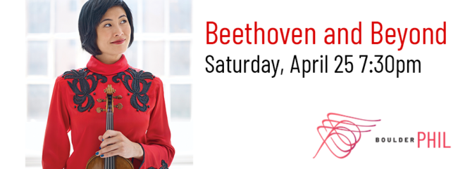 Beethoven and Beyond @ Macky Auditorium | Boulder | Colorado | United States