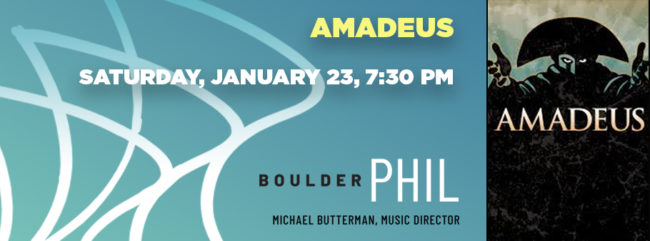 Amadeus @ Macky Auditorium | Boulder | Colorado | United States