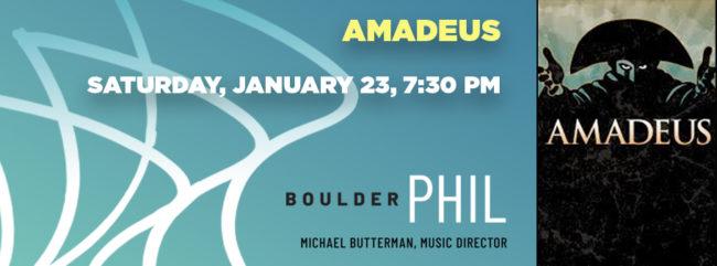 Amadeus @ Macky Auditorium | Boulder | Colorado | United States