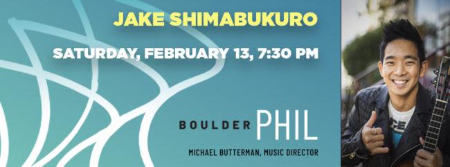 Jake Shimabukuro @ Macky Auditorium | Boulder | Colorado | United States