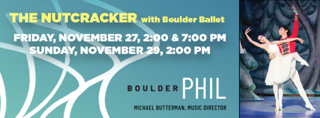 The Nutcracker Sun 2pm @ Macky Auditorium | Boulder | Colorado | United States