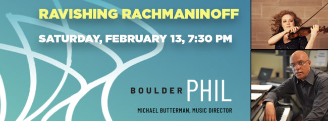 Ravishing Rachmaninoff @ Macky Auditorium | Boulder | Colorado | United States