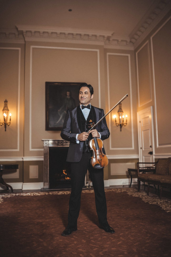 Event of Note with Violinist Philippe Quint - Virtual
