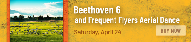 Beethoven Symphony No. 6 and Frequent Flyers Aerial Dance