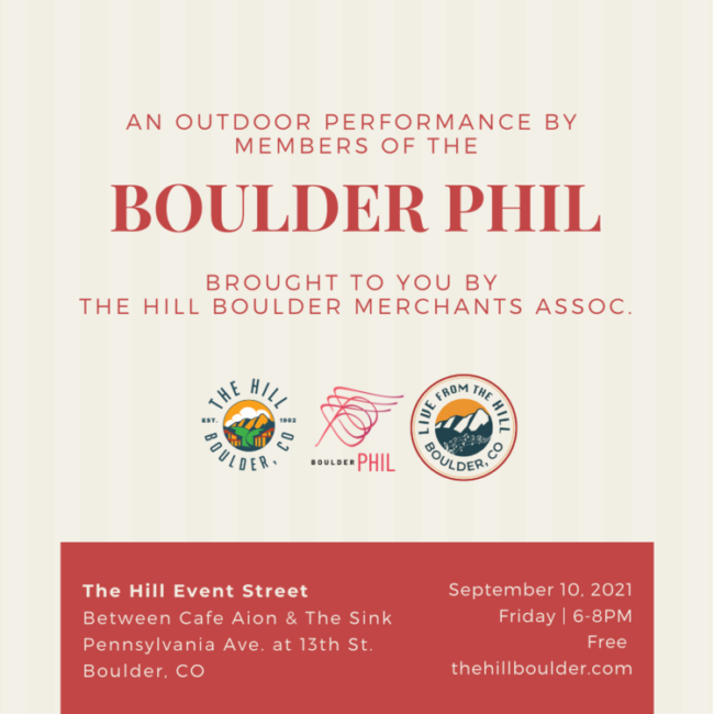 Boulder Phil - Live from the Hill @ The Hill Boulder | Boulder | Colorado | United States